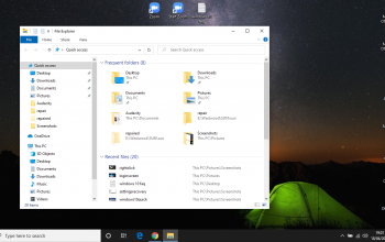 How do I move files and folders in Windows 10?